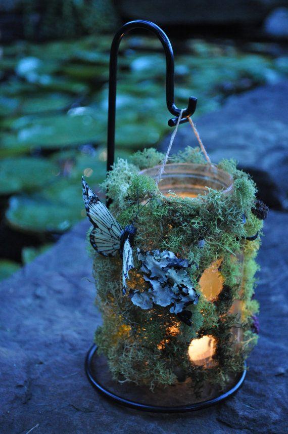 ZOMG!!! Love!!! u003c3 Fairies Pinterest Jardines rústicos - jardines navideos