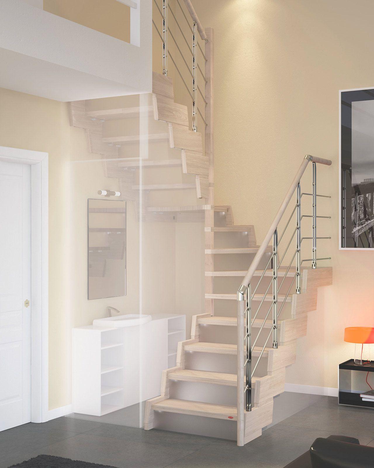 Ristrutturazione dalla porta alla scala soluzioni salvaspazio scale and staircases - Soluzioni per chiudere scale interne ...