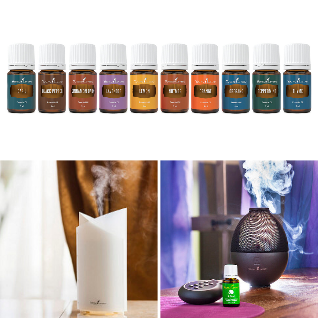 Essential Oil and Oil Diffusers can be found at The Oil