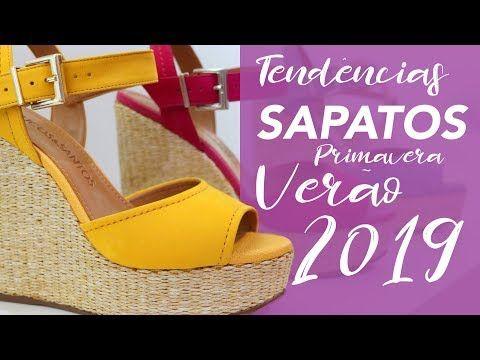 7fcdaa18b89 Sapatos  Tendência Primavera Verão 2019 - Vício de Menina - YouTube ...