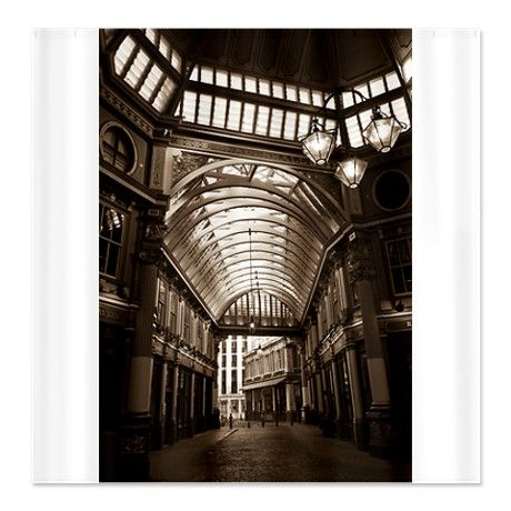 Leadenhall Market London Fabric Curtain Panel.  Another way to set the mood by covering the walls.