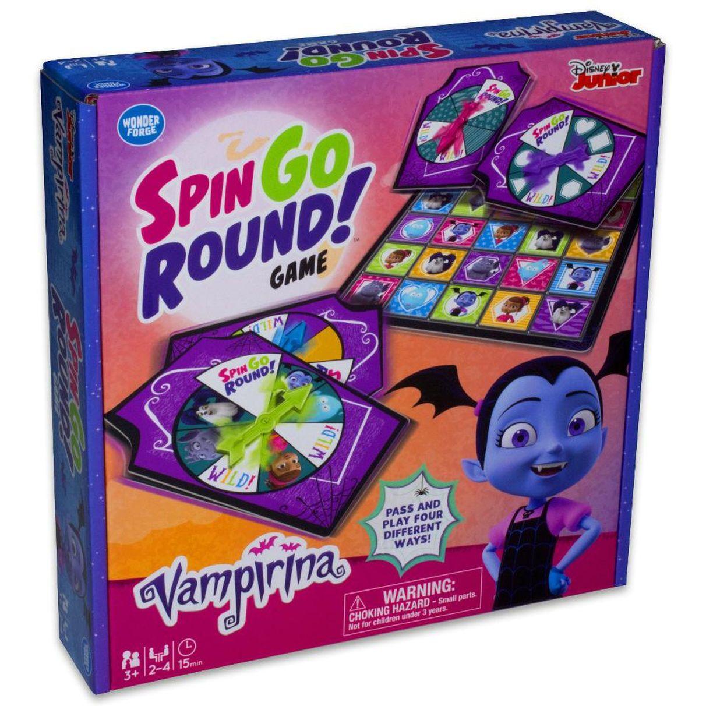 Disney junior vampirina spin go round game christmas ideas for