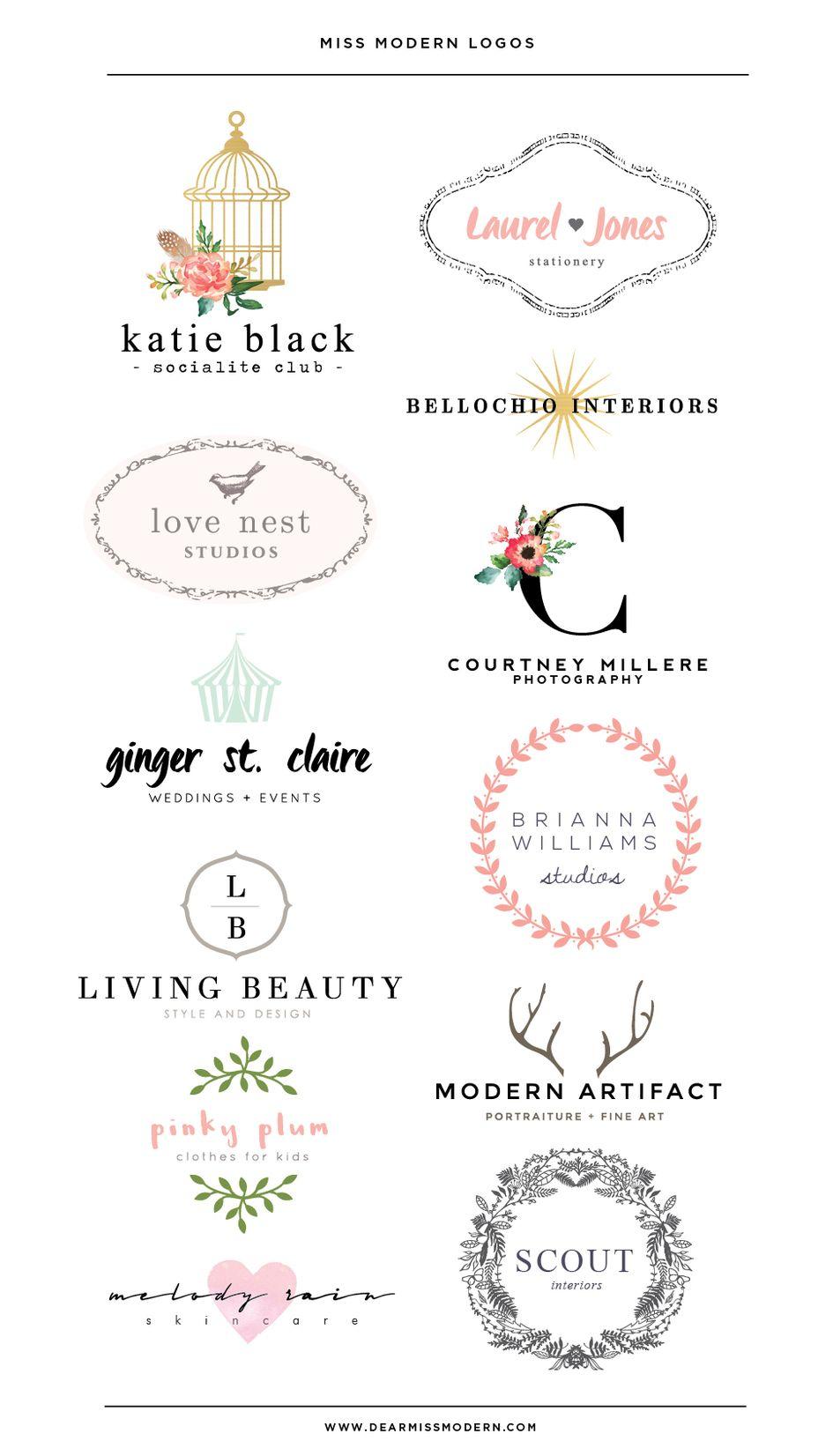 Journal Modern Logo Shop Logo Branding Design