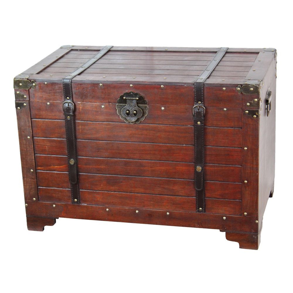 Target Storage Trunk Brilliant Old Fashioned Wooden Treasure Hope Chest #unbranded  Cheapy Nice 2018
