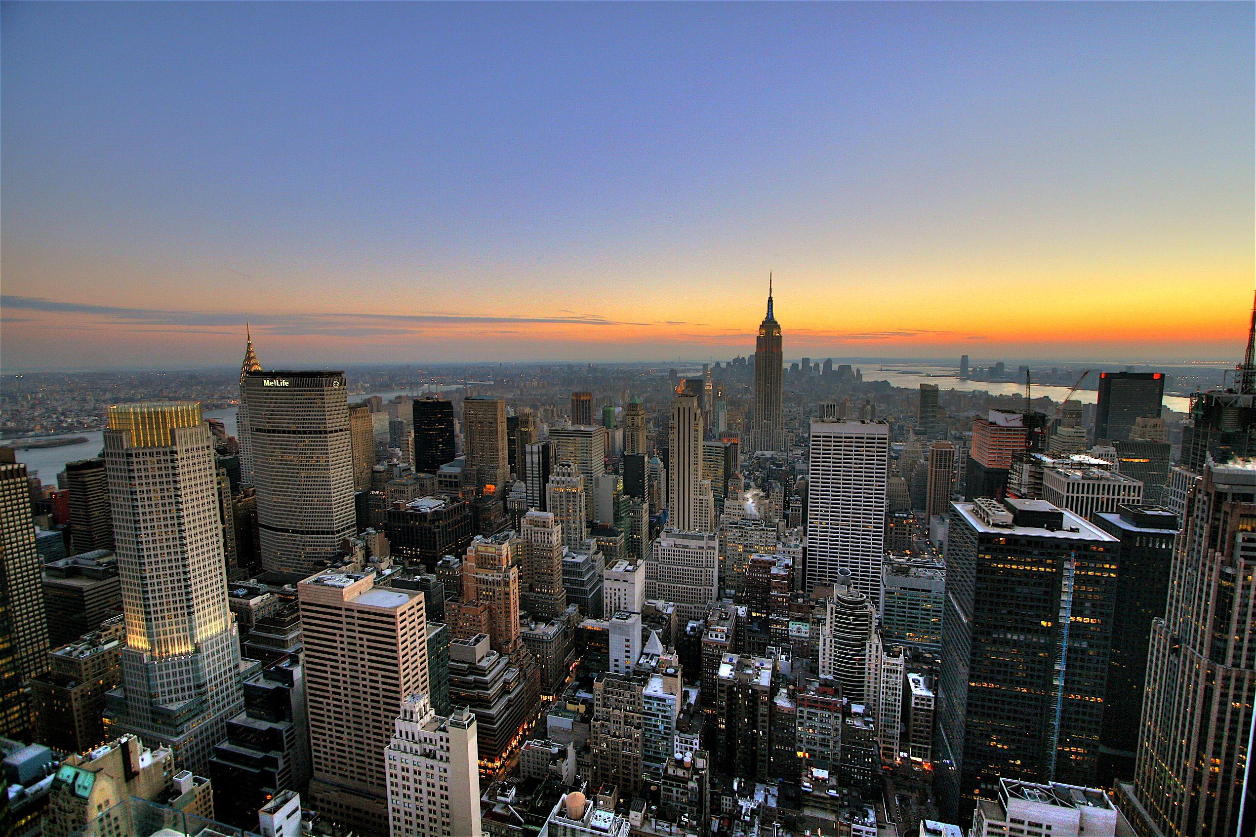 New york city sunset skyline wallpaper widescreen hd background new york city sunset skyline wallpaper widescreen hd background voltagebd Gallery