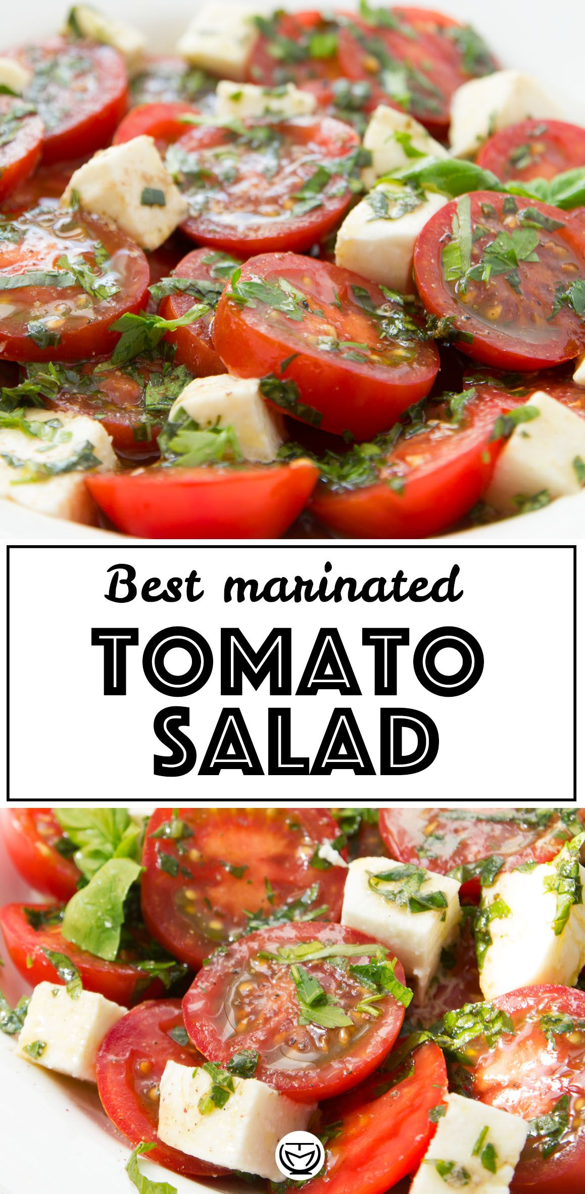 The Best Marinated Tomato Salad Recipe In 2020 Tomato Side Dishes Marinated Tomatoes Tomato Salad Recipes