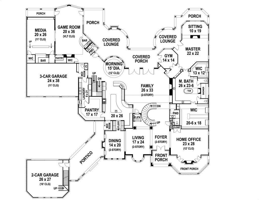 Armani House Plan In 2020 Castle Floor Plan Castle House Plans Mansion Floor Plan