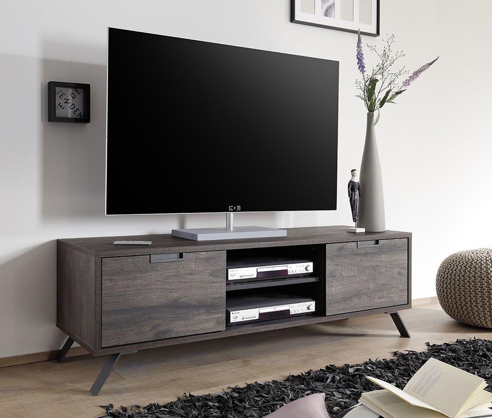 Meuble Tv Design 156cm Wenge Origin Miliboo Meuble Tv Design Mobilier De Salon Meuble Tv Moderne