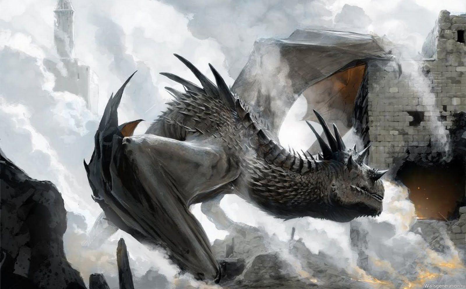 самый большой дракон картинки общем