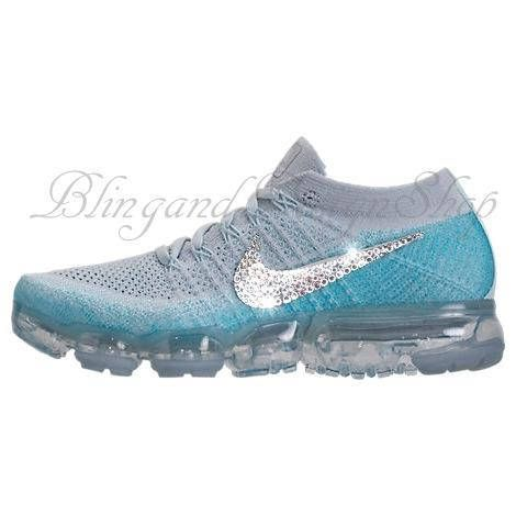 1f97e373b027 Nike VaporMax Flyknit Customized with Swarovski Crystals. Check out this  item in my Etsy shop