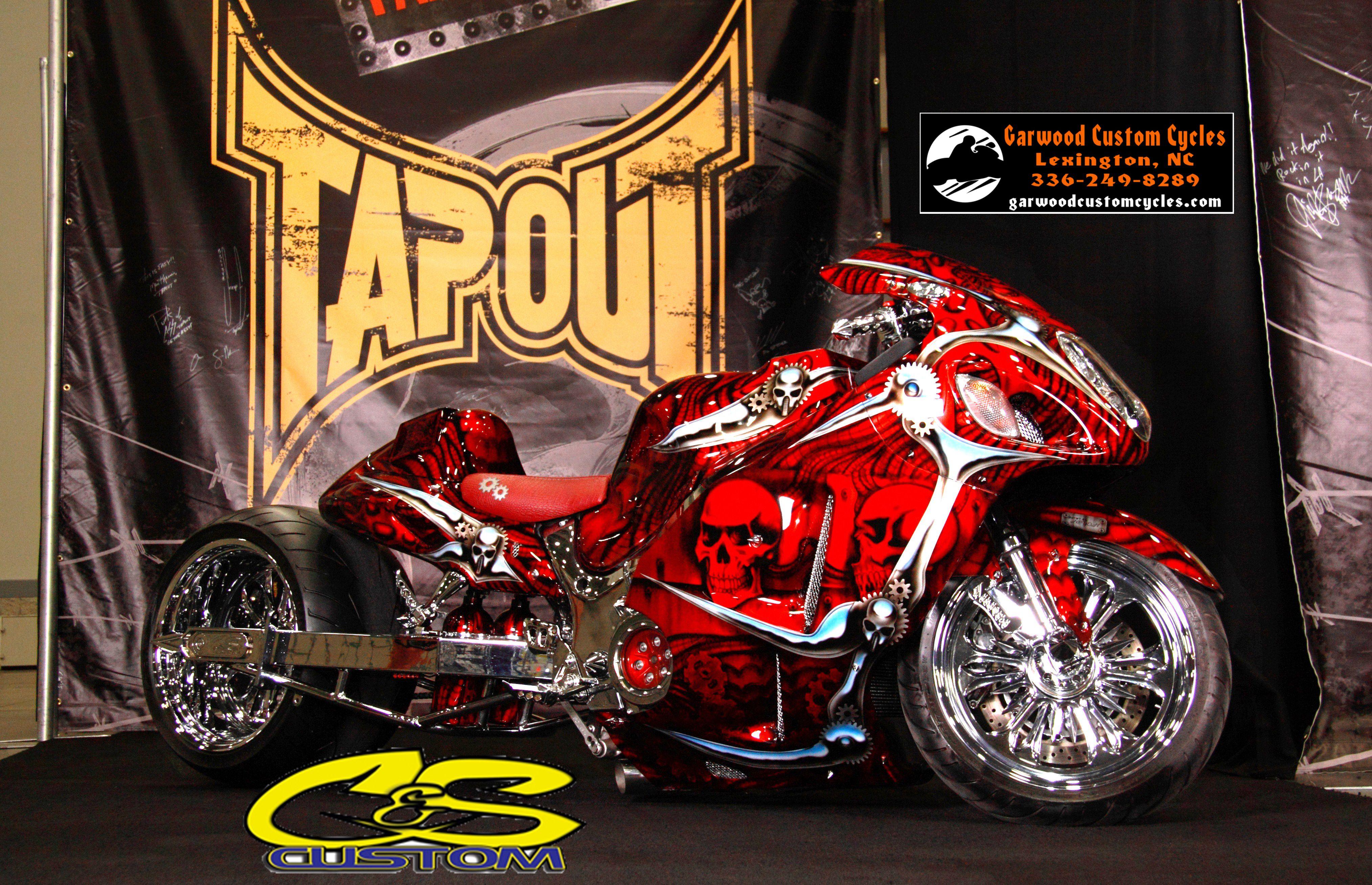 Hotwire by Garwood custom cycles #GCC #Sportbike #Motorcycle #Motorbike  #Kawasaki #zx14 #Suzuki #green #Hayabusa #busa