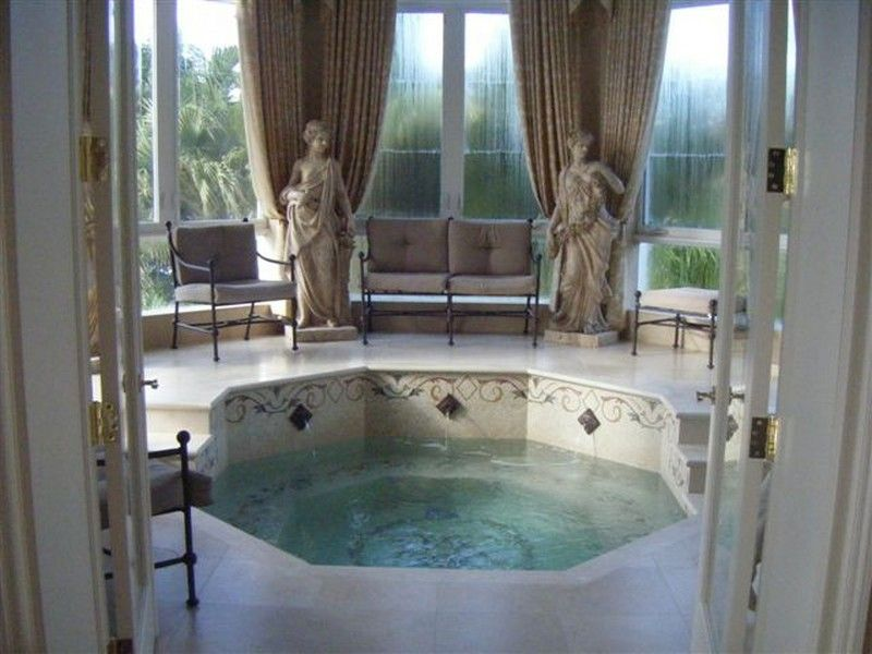 indoor jacuzzi | Bathrooms | Pinterest | Jacuzzi, Indoor and Interiors