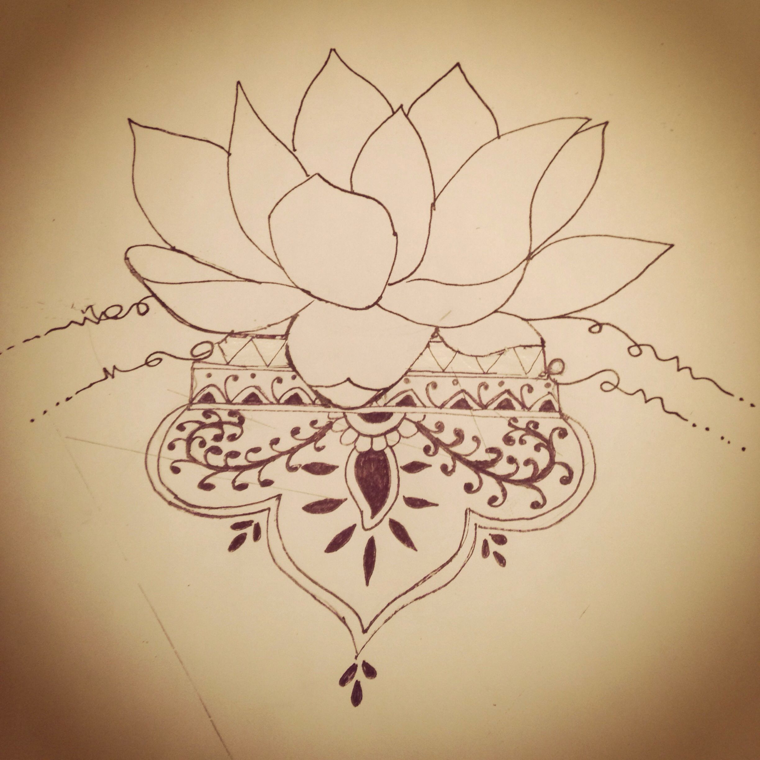 My lotus flower design tattoo ideas pinterest lotus flower my lotus flower design izmirmasajfo