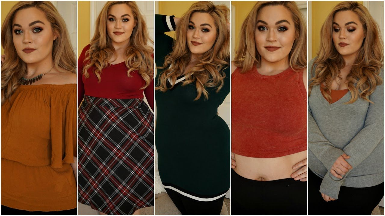 Forever 21 Haul Try On Plus Size Sweaters Crop Tops More