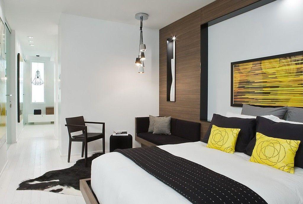 Binnenkijken   Modern wonen in de zwart, wit en geel • Stijlvol Styling…