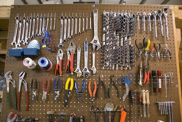 Ways To Organize Tools In Garage