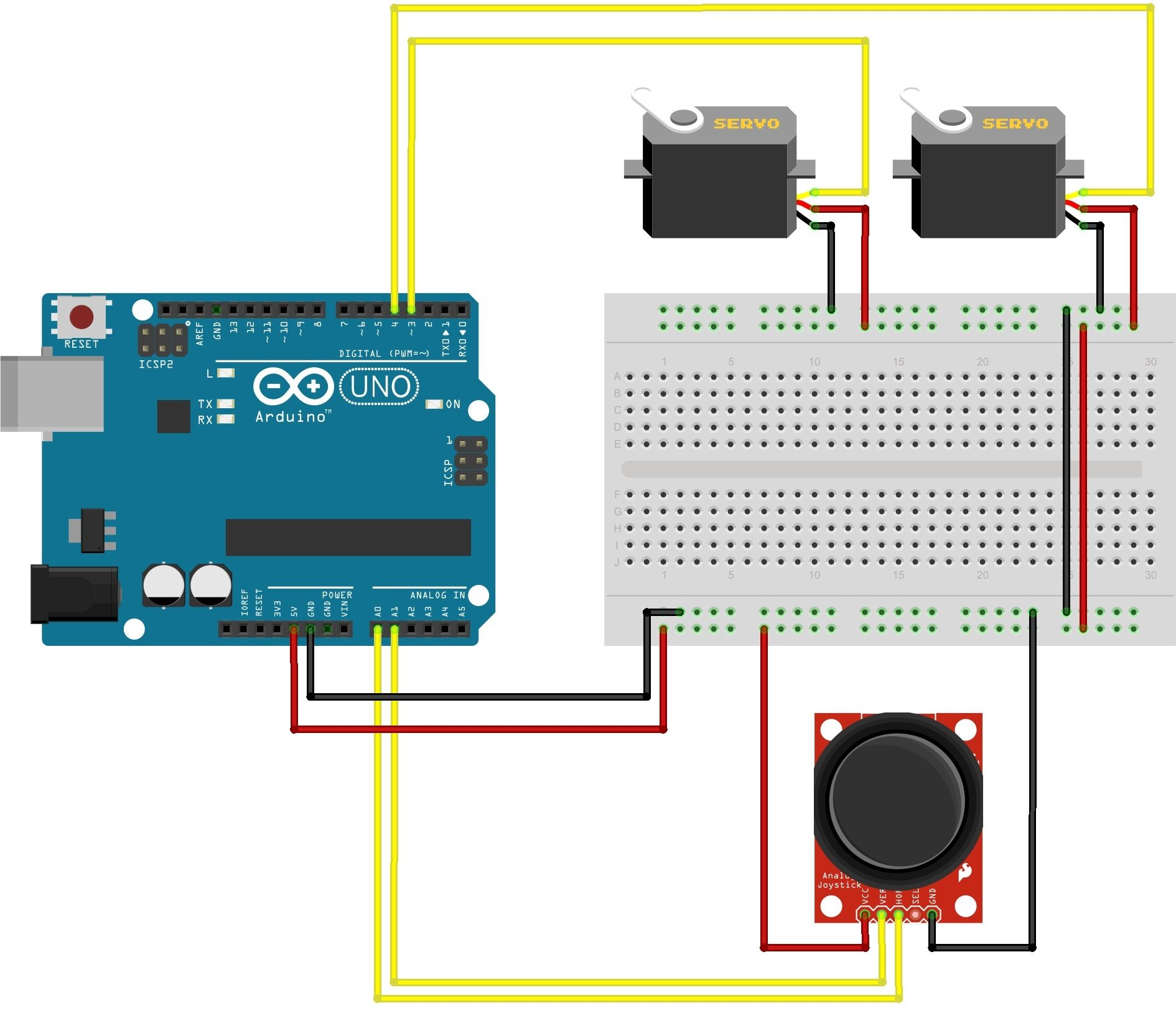 I Wrote A Program To Generate Smooth Position Pros Output The Servos Arduino Main Mearm Ino Connects Usb Serial O And