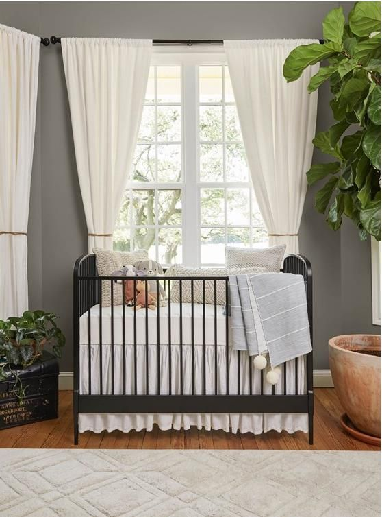 Joanna Gaines shows off baby Crew's room and shares tips for decorating a nursery #magnoliahomesjoannagaines