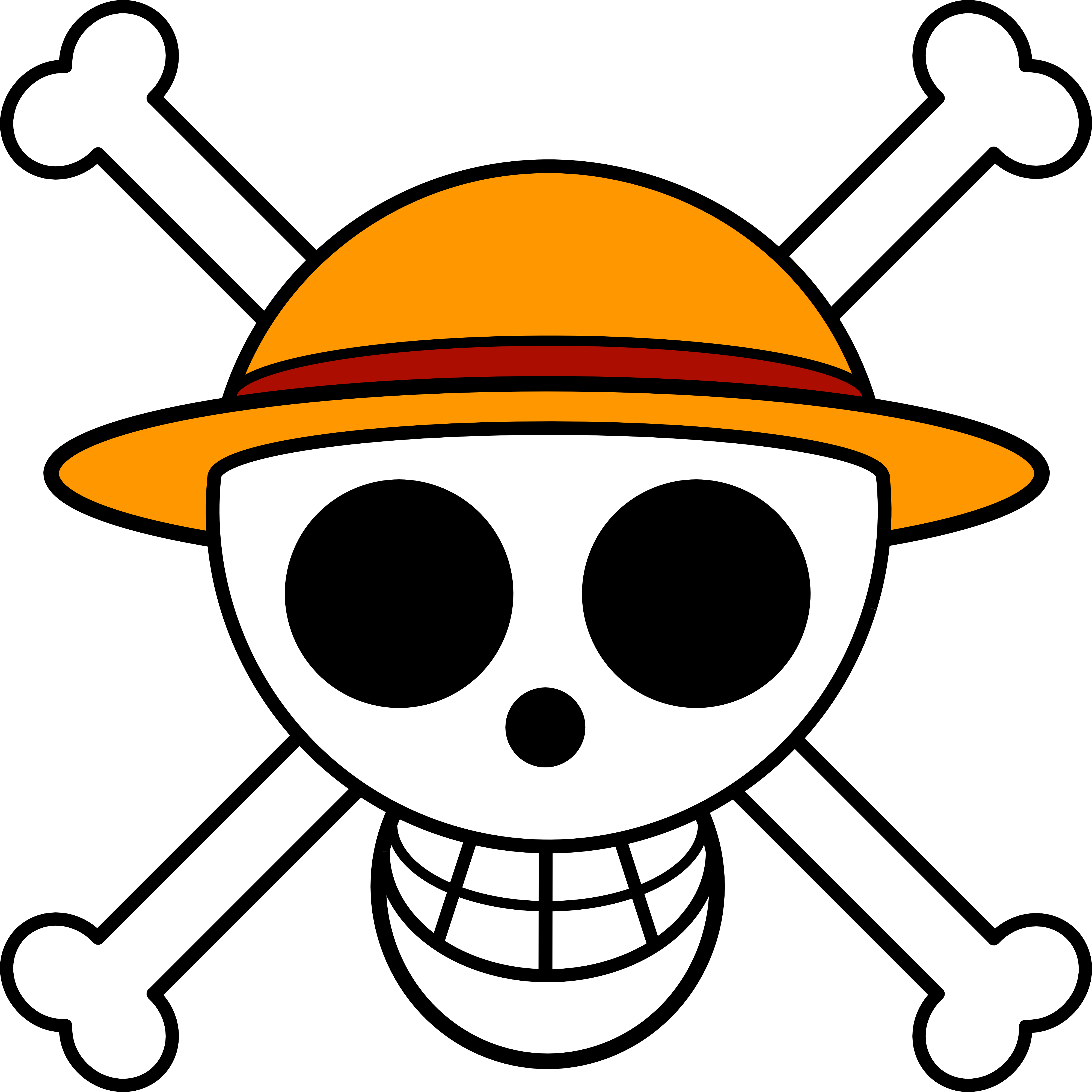 Straw Hat Pirates Jolly Roger One Piece Manga One Piece Anime One Piece Logo