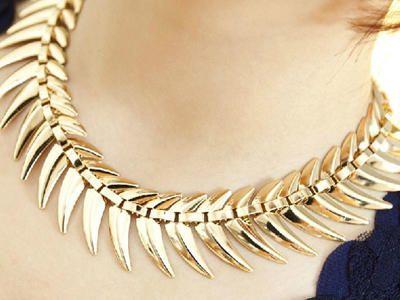 aliexpress collares dorados