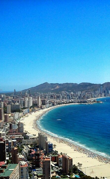Relax By Day And Party By Night Benidorm Is A Great Holiday To Make With Mates Check Our Website For More Informat Spain Travel Vacation Trips Holiday Places