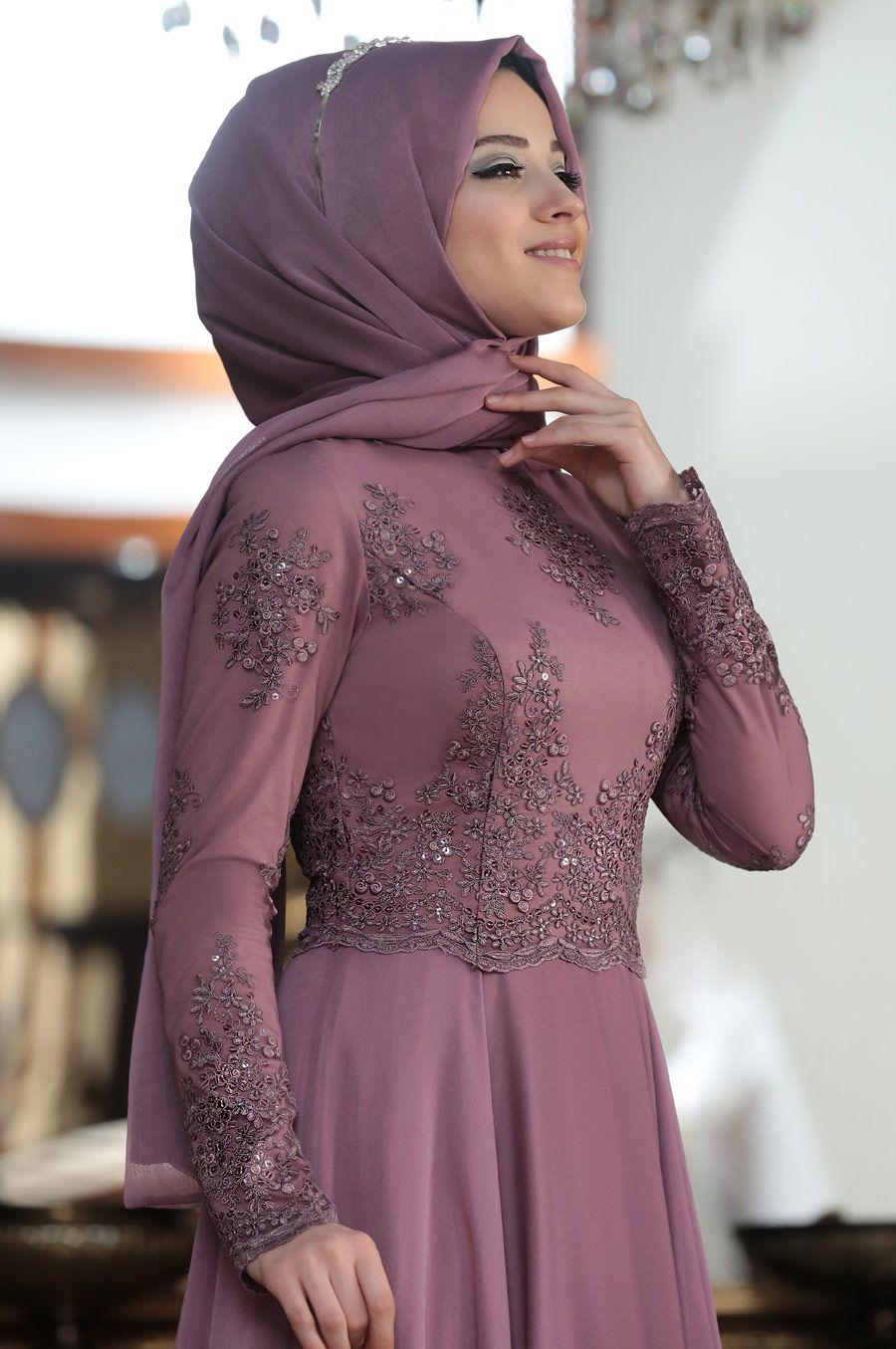 4627810939430 Al-Marah - Tılsım Tesettür Abiye in 2019 | Moda | Elbise düğün ...