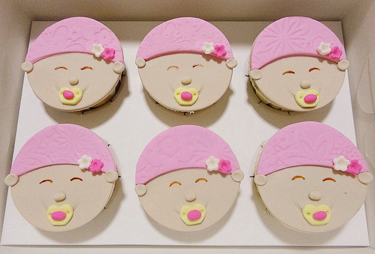 Anna Cakes Cupcakes From Cheras Selangor Baby Fullmoon Cupcakes Gift Set Baby Cupcake Cupcake Gift Cupcake Cakes