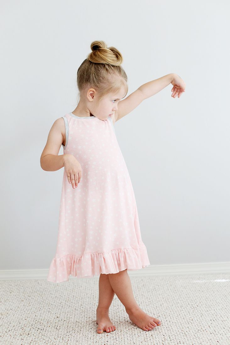 Summer Nightie Free Pattern | Pijamas niña, Camisón y Pijama