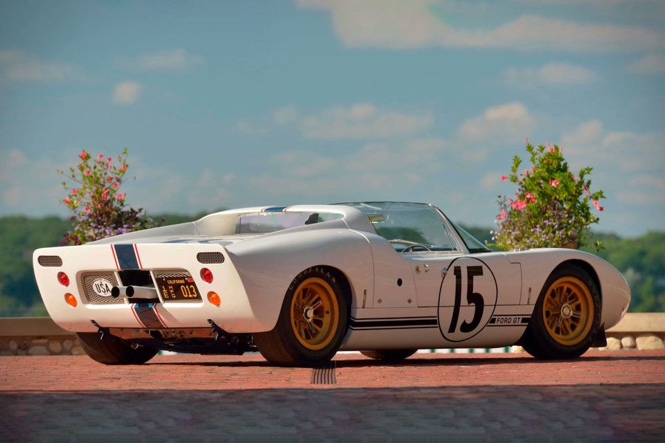 1965 Ford Gt Competition Prototype Roadster Ford Gt Ford