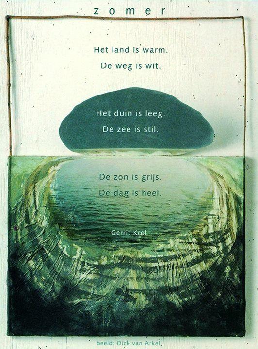 Gerrit Krol - zomer (Plint) - Poezie | Pinterest - Plint ...