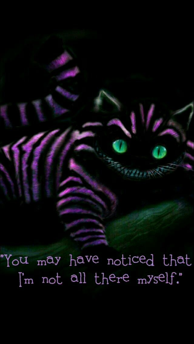 Pin By Ashlee Surguy On Tatoos In 2019 Alice Wonderland Quotes Cheshire Cat Alice In Wonderland Alice Madness