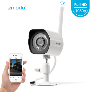 Zmodo 1080p Wireless Outdoor Home Security Camera Night Vision Remote Monitoring 889490 With Images Security Cameras For Home Outdoor Home Security Cameras Security Camera