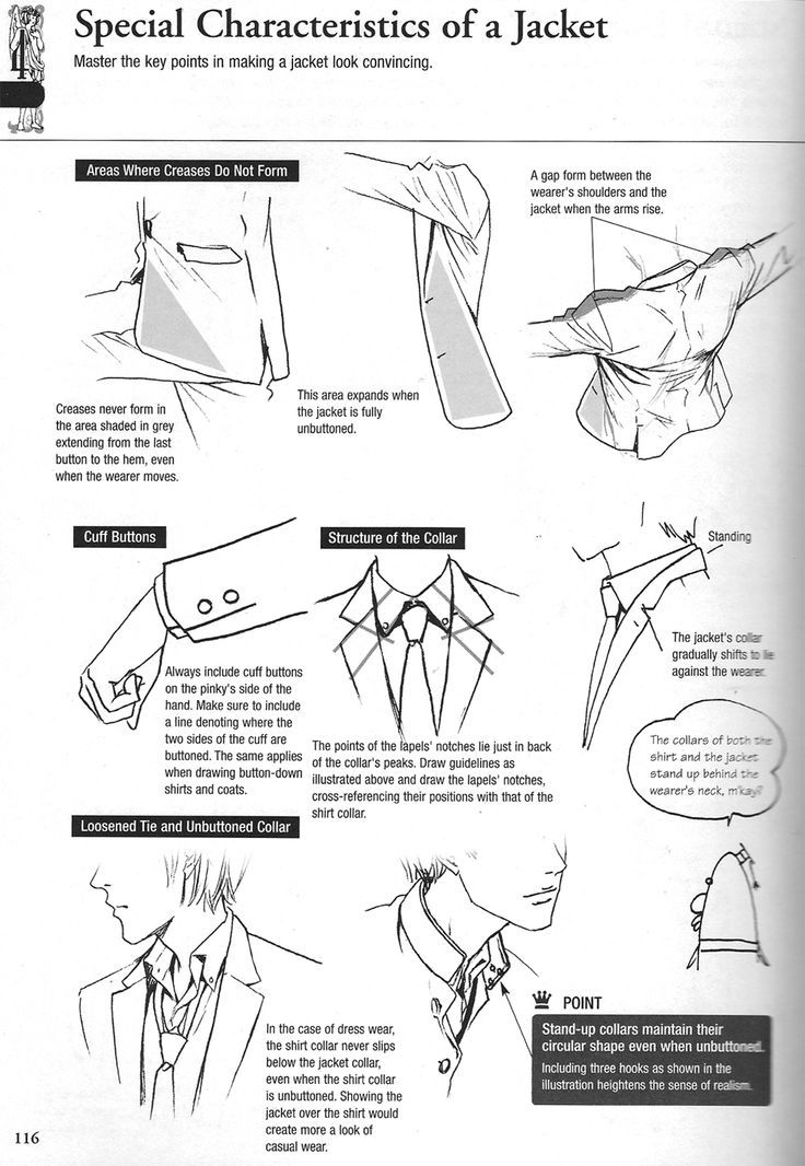 References And Tutorials Fungii  How To Draw Shirts And Pants