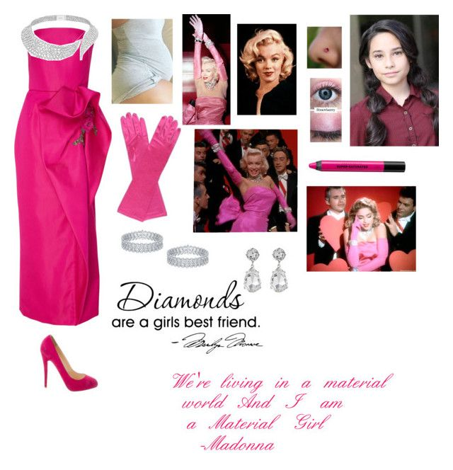 Andrea Anderson Material Girl Diamonds Are A Girl S Best Friend