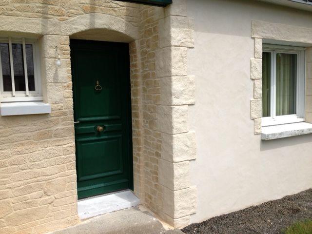 Habillez vos portes et fenêtres avec l\u0027enduit aspect pierre