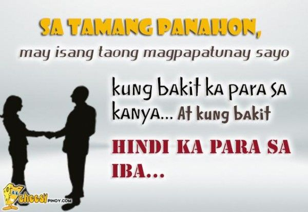 Cheesypinoy We Have A Collection Of Tagalog Filipino Pinoy Impressive Tagalog Quotes About Love And Friendship