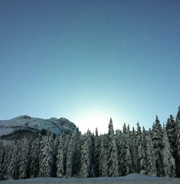 Coquihalla winter wonderland