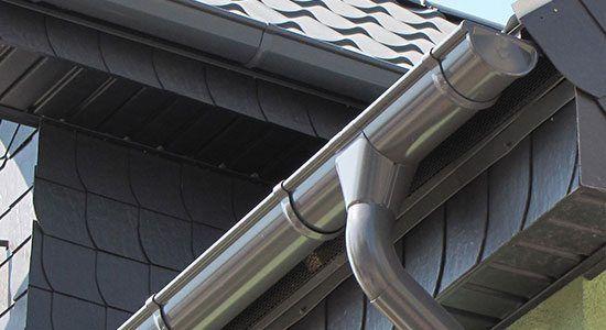 Galvanized Steel St Louis Gutters Galvanized Gutters Downspout