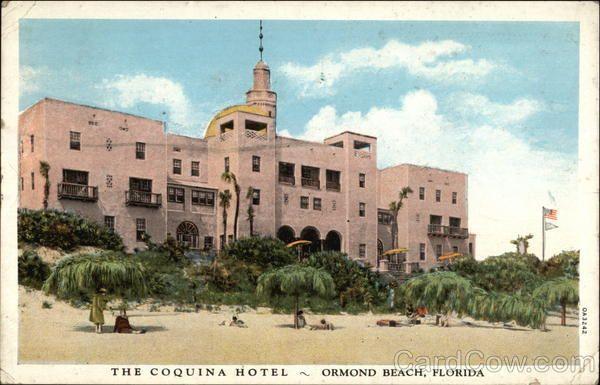 The Coquina Hotel Ormond Beach Florida