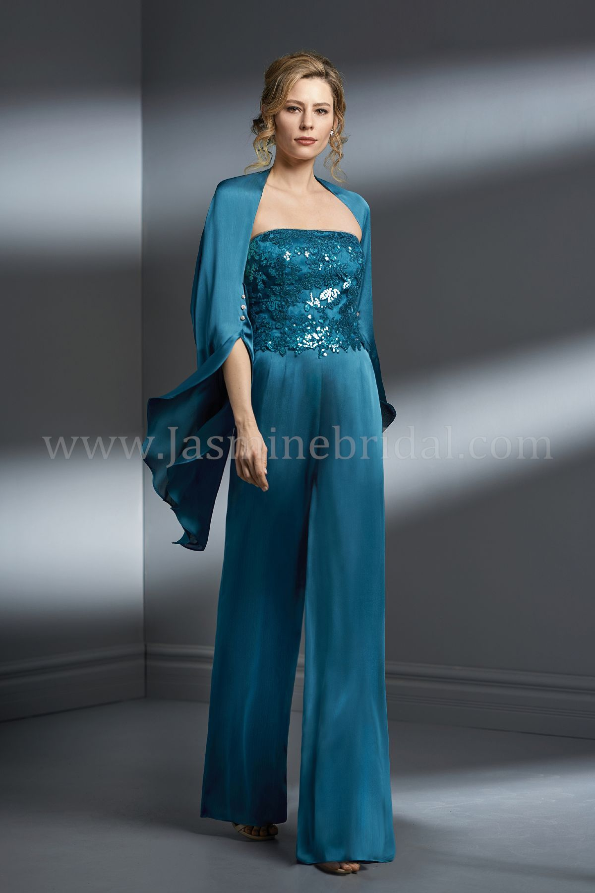 Jasmine Bridal   Jade Couture Style K198067 in Teal   Audrey Sequin ...