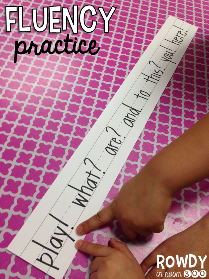 Fluency practice rowdy in room 300 fluency practice this is a good idea to help students practice their inflection while reading i think this would be best for lower grades or struggling readers that might fandeluxe Images