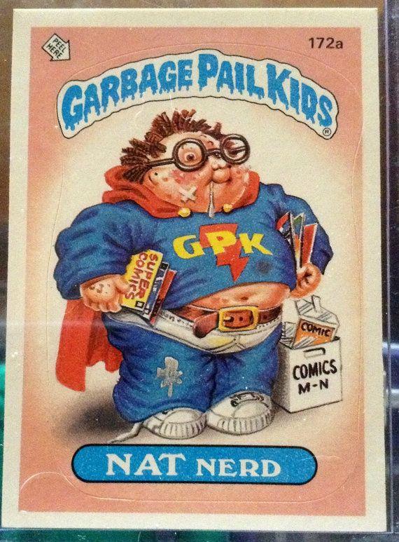 1986 Topps Garbage Pail Kids Trading Card 172a Etsy Garbage Pail Kids Garbage Pail Kids Cards Pail