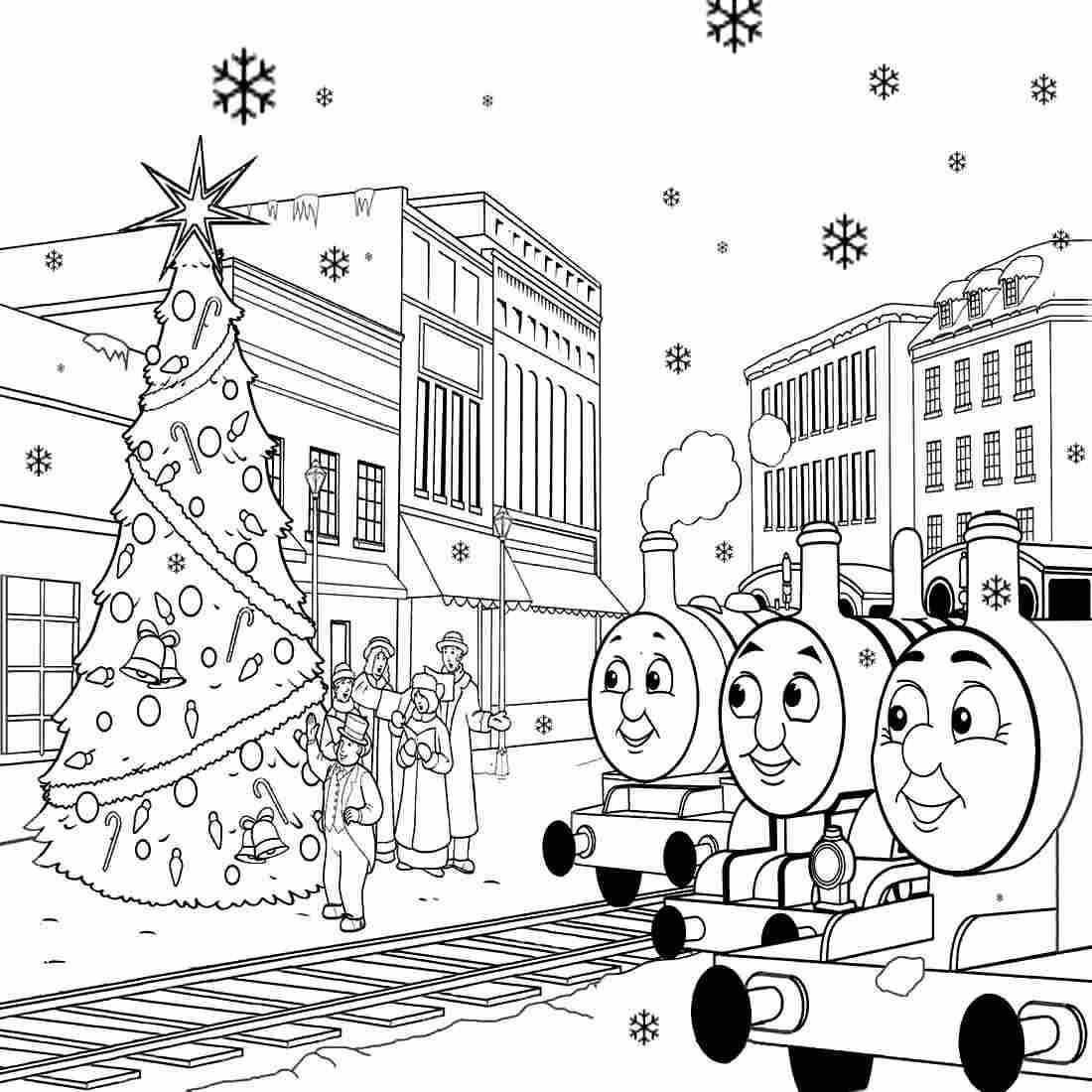 Thomas the train coloring pages for toddlers - Thomas The Train Coloring Pages To Print Free For Toddlers