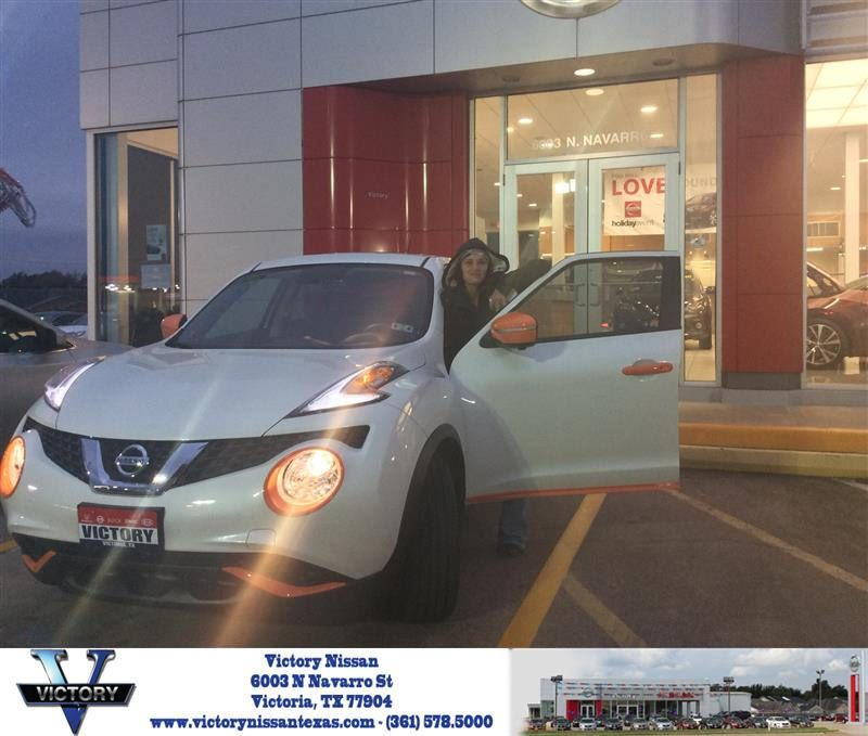 Victory Nissan Victoria Tx >> Congratulations Kristin On Your Nissan Juke From Robert