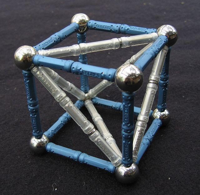 geomag tetrahedron inside cube geomag geometry sacred geometry en cube. Black Bedroom Furniture Sets. Home Design Ideas
