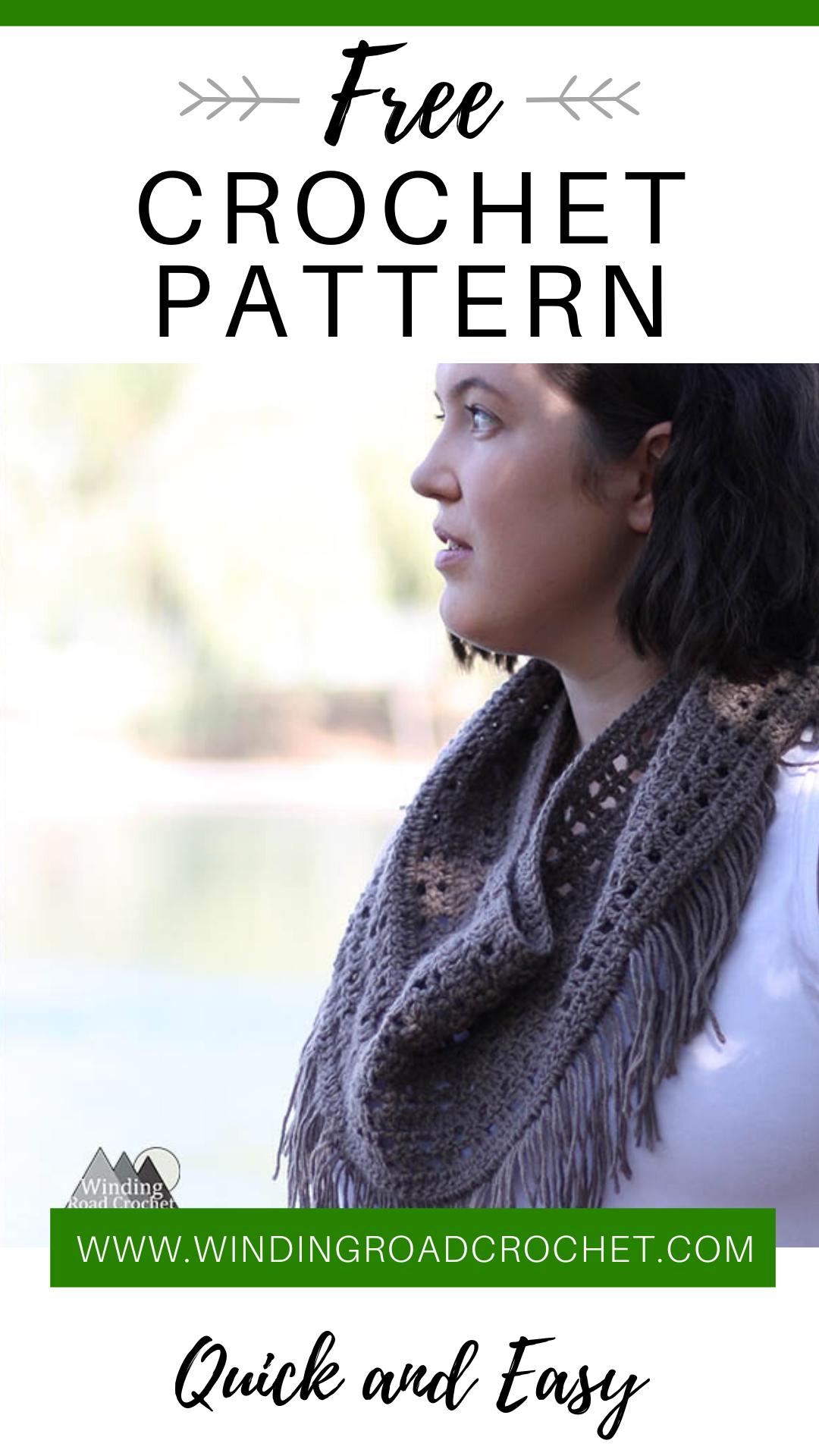 Free Crochet Pattern The Odyssey Cowl