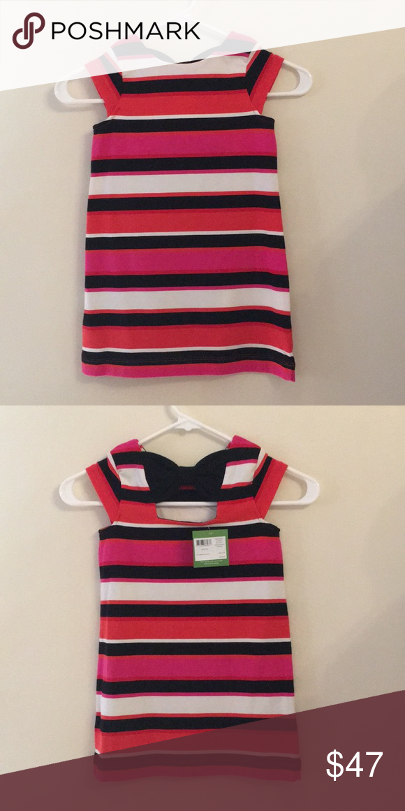 5ed942c4413a6 BRAND NEW KATE SPADE ♤ DRESS Simply darling KS striped dress with cute bow  on back nice material very classy Dresses