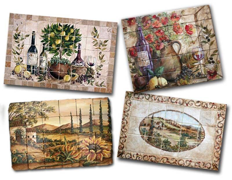 Decorative Tiles For Kitchen Captivating Tre Sorelle Hand Painted Tile Murals And Decorative Tiles Design Ideas