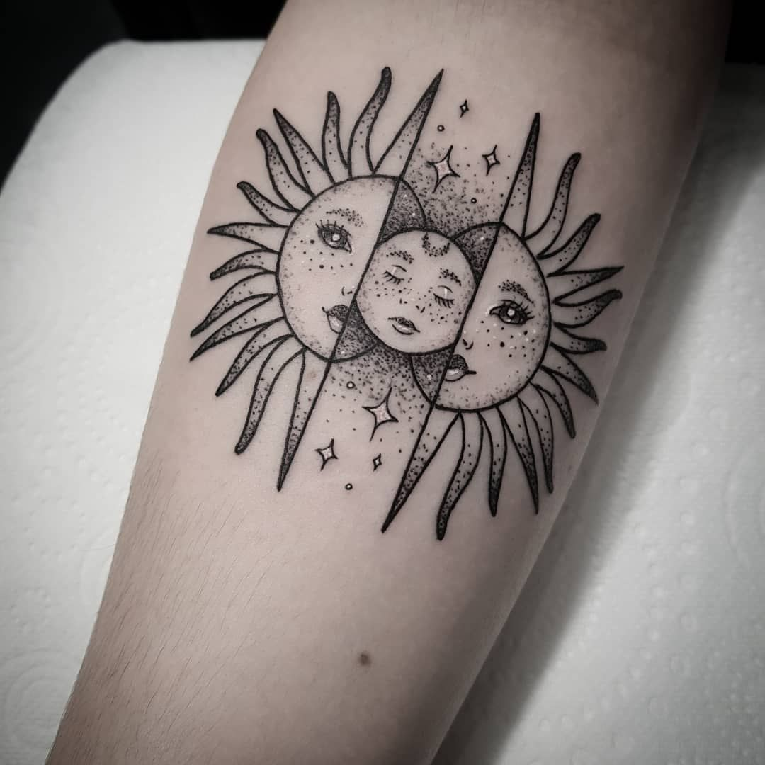 101 Amazing Sun Tattoo Ideas That Will Blow Your Mind! in