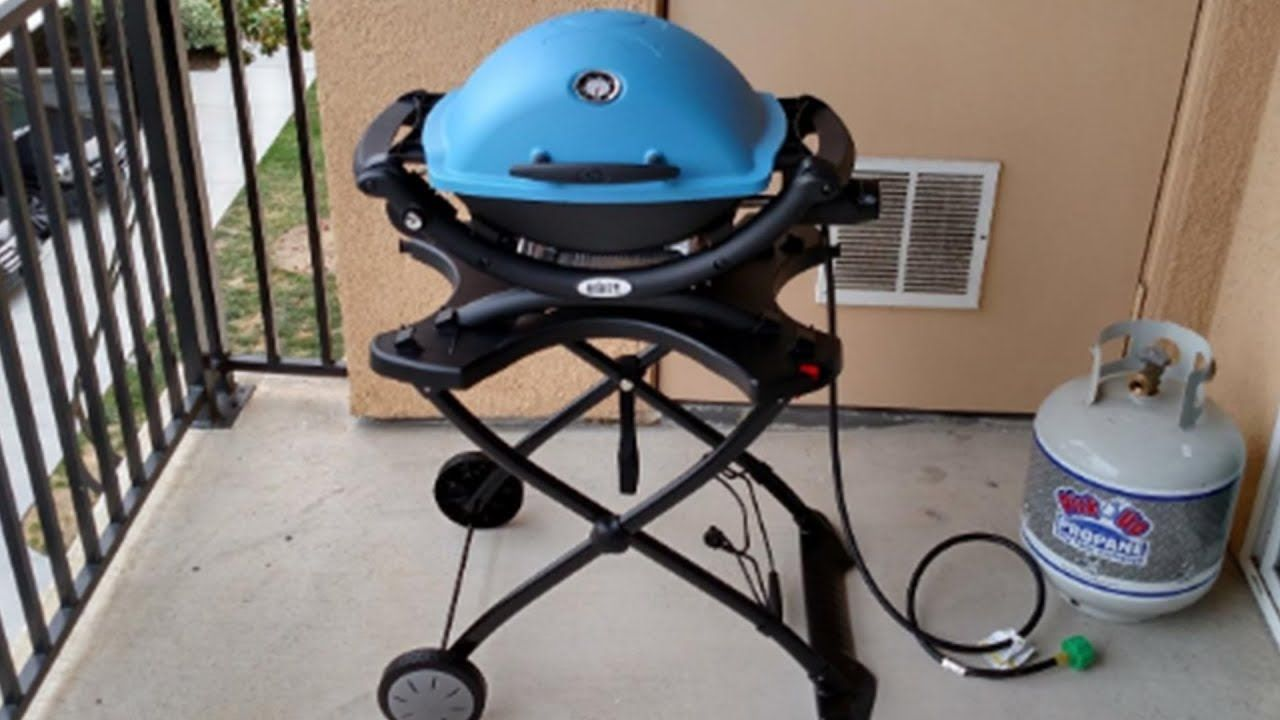 Weber Q1200 Liquid Propane Grill Review Propane Grill Griddle Cooking Grilling